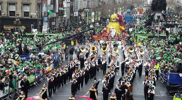 St Patrick's Day in New York, USA
