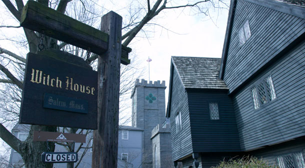 Witch House in Salem, Massachusetts. Photo by MapQuest Travel