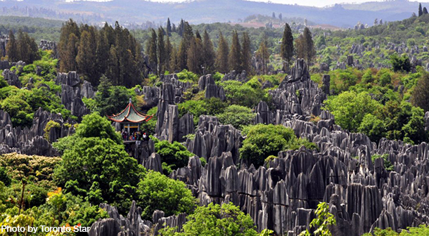 Stone_Forest_China_Photo_By_toronto_Star