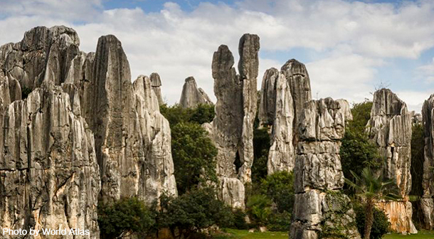 Stone_Forest_China_Photo_By_World_Atlas