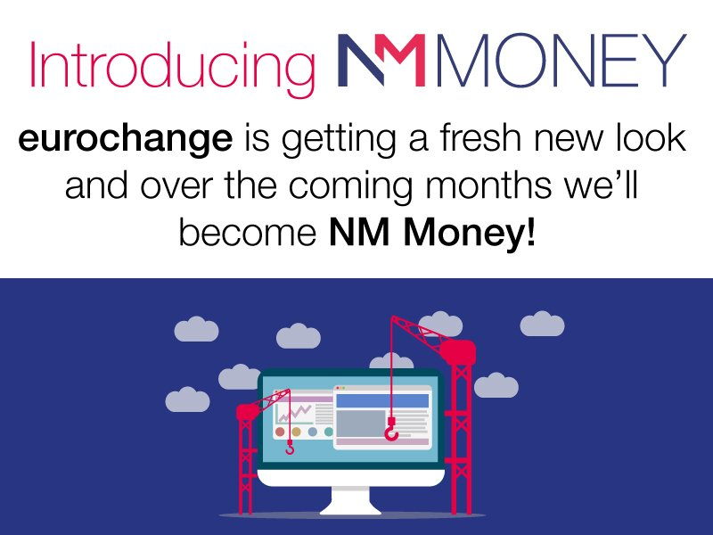 Eurochange is becoming Nm Money!