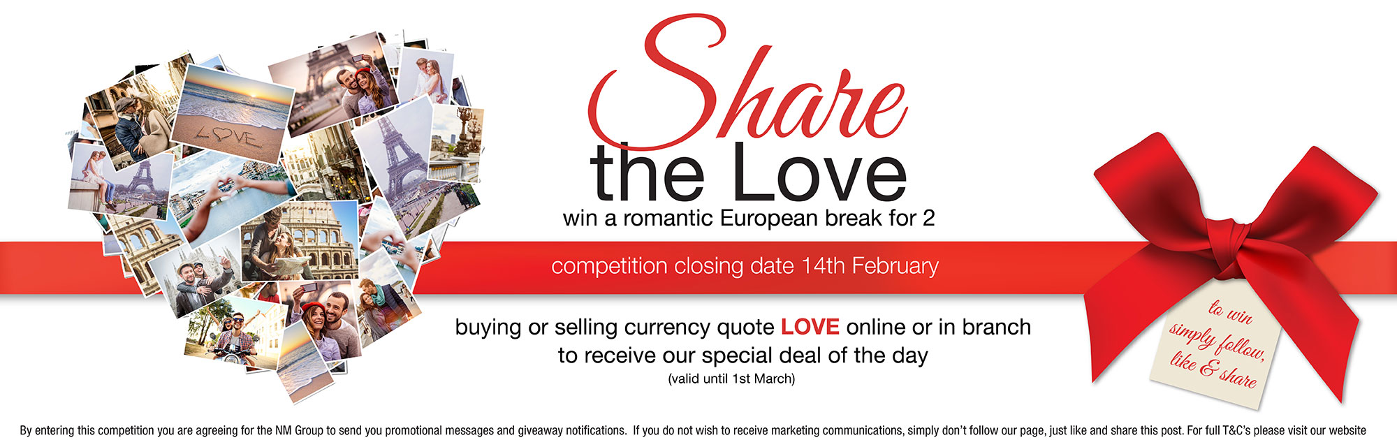 Share the Love Social Media Giveaway